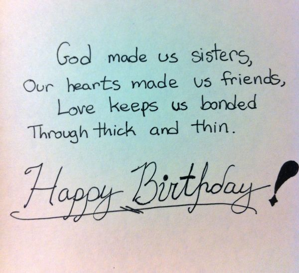 Cool Happy Birthday Wishes For Sister Images Birthday Party List Personalised Birthday Cards Paralily Jamesorg